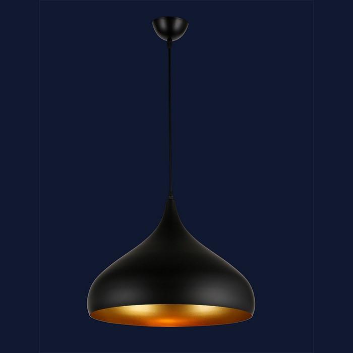 Светильник в стиле лофт  Levistella 7546425-1 BK(420)