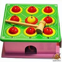 Деревянная игрушка стучалка большая - 20*20 см