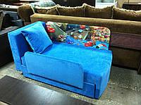 Детский диван с нишей для ребенка Мультик - принт Машина