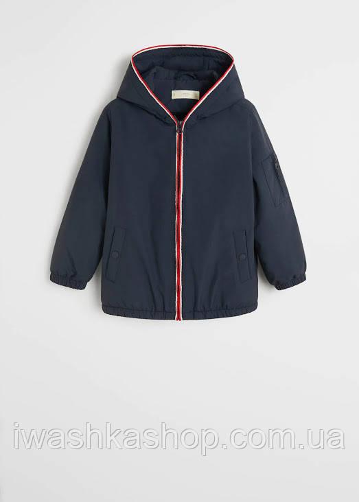 Брендовая теплая куртка с мягкой подкладкой на мальчика 11 - 12 лет, р. 152, Mango