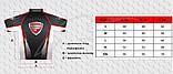 Футболка Favorite FT-7 червоний лого ц:чорний, фото 4
