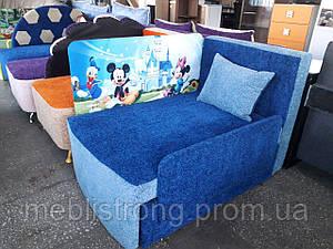 Детский диван с нишей для ребенка Мультик - принт Микки Маус