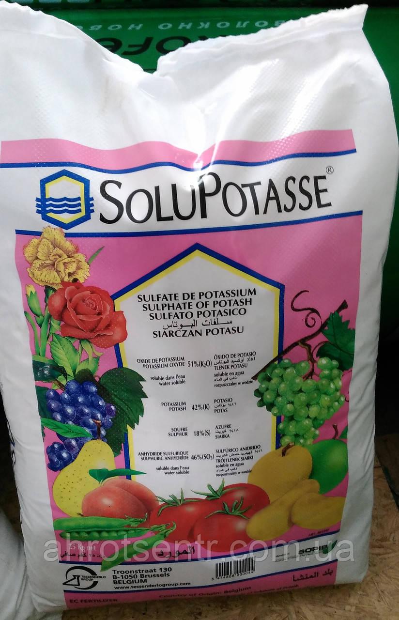 Сульфат калію СОЛЮПОТАС, (Бельгія) 25 кг