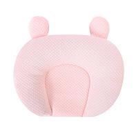 Детская хлопковая ортопедическая подушка Lovely Baby U1 Light Pink с наполнителем из гречневой шелухи