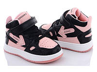 Хайтопы (кроссовки, кеды) стильные для девочки, 21 (14 см), 22 (14,5 см), 23 (15 см), 24 (15,5 см), 25 (16 см)