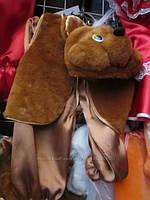 """Карнавальный костюм мех """"Медведь"""", размер от 3 до 6 лет"""