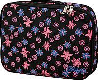 0680244,00 Чехол для ноутбука малый * DERBY * черный / цветы
