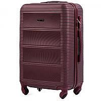 Дорожный чемодан wings 203 бордовый размер M (средний), фото 1
