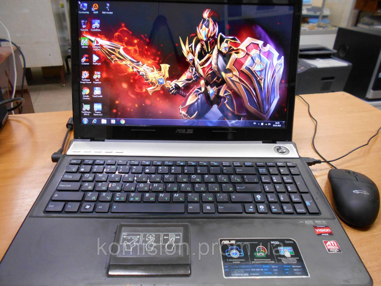 Ноутбук ASUS N61DA 16 AMD Phenom P920 1,6 GHz 4 ядра DDR3