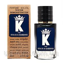 Dolce&Gabbana K TESTER LUX, мужской, 60 мл