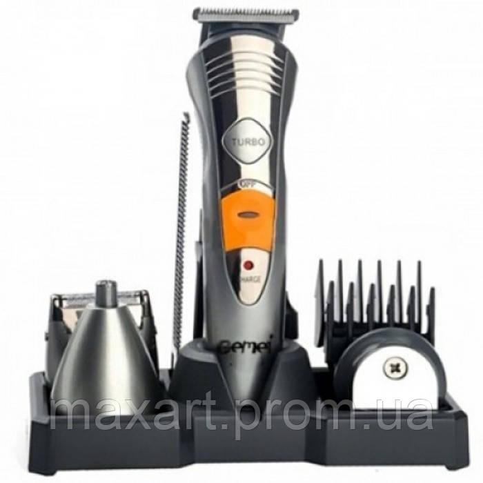 Машинка для стрижки волос 7 в 1 Geemy GM-580 триммер