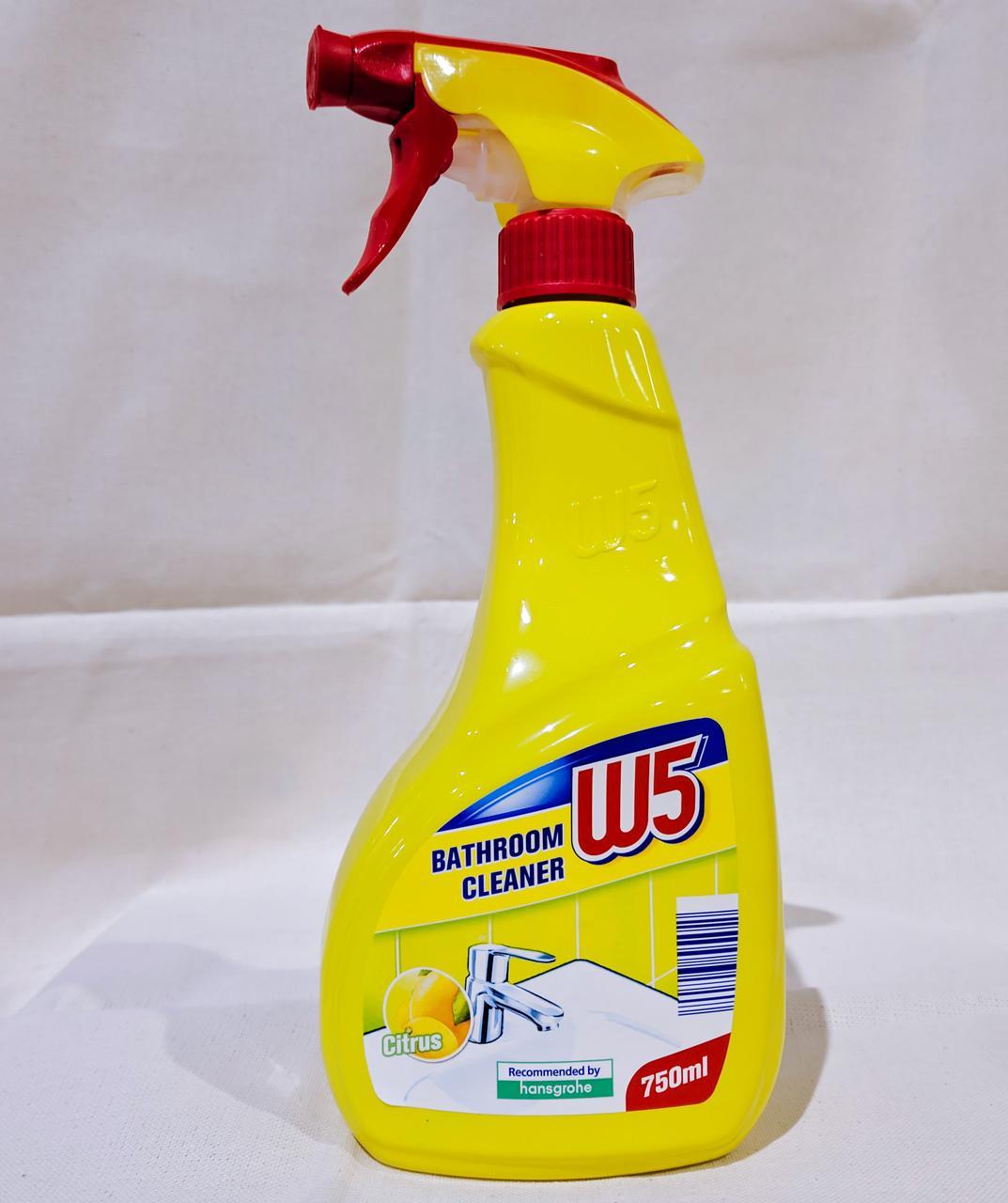 Средство уборки ванной W5 Bathroom cleaner citrus