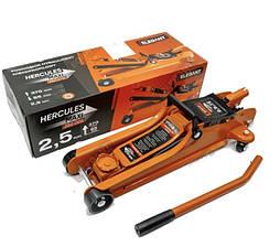 Домкрат подкатной гидравлический 2.5 т 85/370 мм Hercules Elegant Maxi EL 350 006