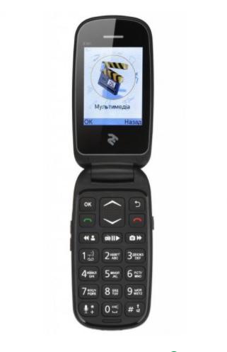 Мобильный телефон 2E E181 Dual Sim Black
