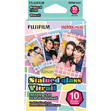 Фотопапір Fujifilm COLORFILM INSTAX MINI STAIND GLASS (54 x 86 мм) 10шт (16203733), фото 3