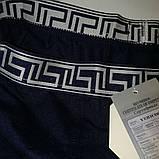 Боксерки, шорты Vericoh 194B на спортивной широкой резинке. Синие, серые, чёрные мужские трусы Верикон, хл-4хл, фото 4