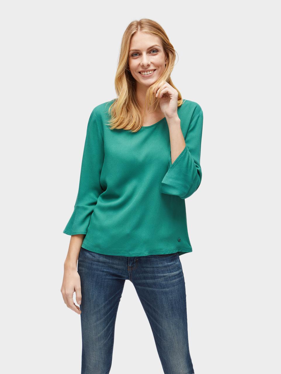 Блуза Tom Tailor 10392040970 L Зеленый