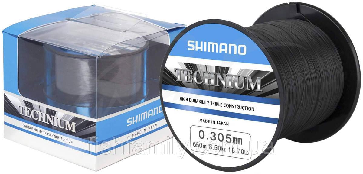 Леска Shimano Technium 650m 0.285mm 7.5kg Premium Box