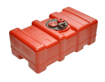 Топливный бак для подвестного лодочного мотора из полиэтилена Eltex 55 литров, фото 2