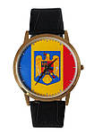 Часы с Вашим фото Румынский флаг, фото 2