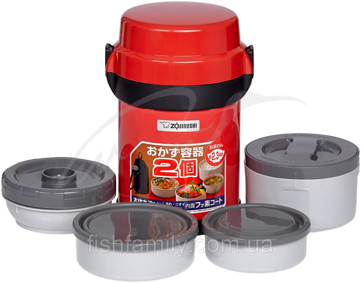 Набор для ланча ZOJIRUSHI SL-JAF14RU 1.23 л ц:красный