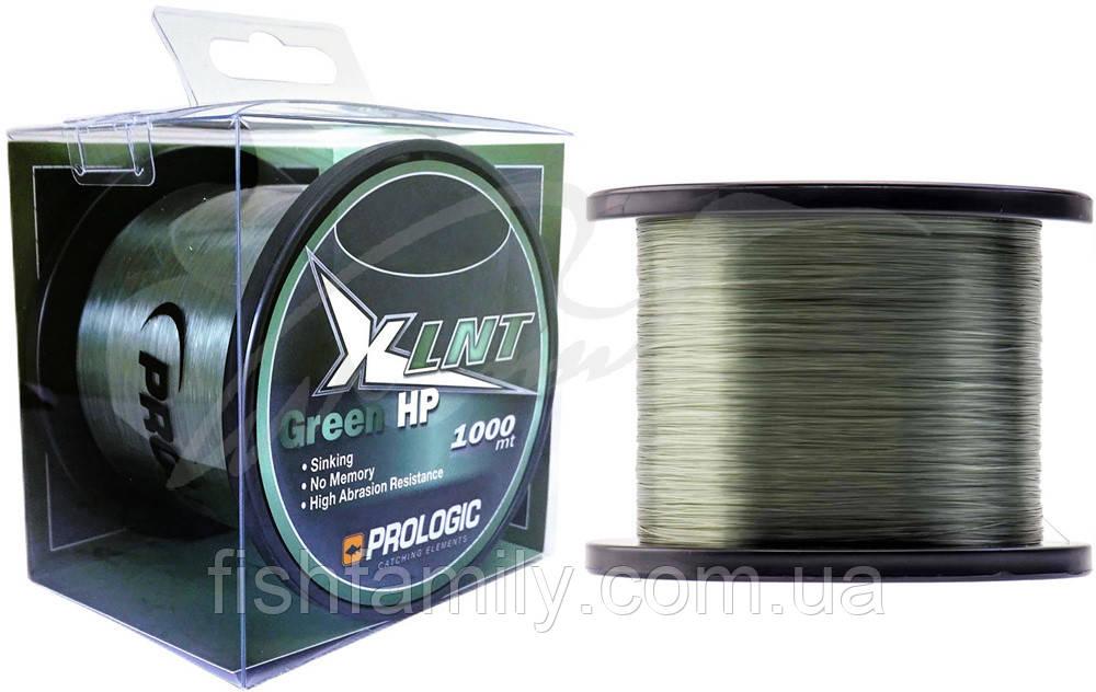 Волосінь Prologic XLNT HP 1000m (Green) 0.43 mm 30lb/13.1 kg