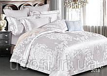 Комплект  постельного белья сатин жаккард Тиара семейный размер 2018