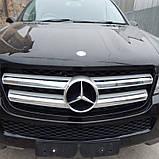 Бампер передний Mercedes GL 6 X 164 2006 2007 2008 2009 2010 2011 2012 гг, фото 2