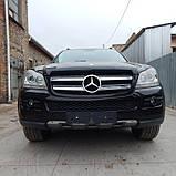 Бампер передний Mercedes GL 6 X 164 2006 2007 2008 2009 2010 2011 2012 гг, фото 3