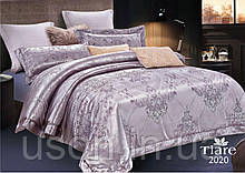 Комплект  постельного белья сатин жаккард Тиара семейный размер 2020