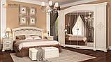 Ліжко 1,6х2,0 Люкс М'яка спинка без каркасу, Спальня Роселла, RS-37-RB, радіка беж, МИРОМАРК, фото 5