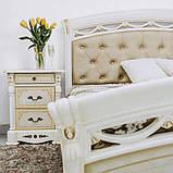 Ліжко 1,6х2,0 Люкс М'яка спинка без каркасу, Спальня Роселла, RS-37-RB, радіка беж, МИРОМАРК, фото 7