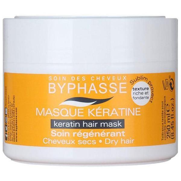 Byphasse Liquid Keratine Hair Mask Маска для сухих и тусклых волос маска 250 г