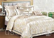Комплект  постельного белья сатин жаккард Тиара семейный размер 2023