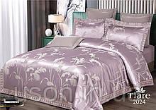 Комплект  постельного белья сатин жаккард Тиара семейный размер 2024