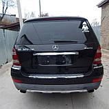 Бампер задній Mercedes GL X 164 2006 2007 2008 2009 2010 2011 2012 рр, фото 3