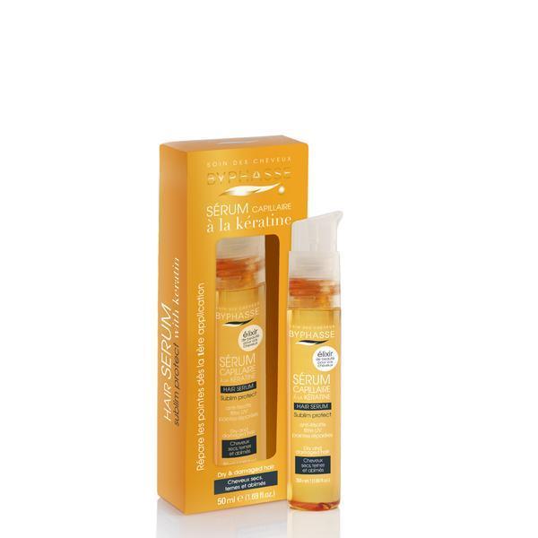 Byphasse Hair Serum Sublim Protect Dry And Damaged Hair Сыворотка для сухих и поврежденных волос сыворотка