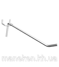 Крючок одинарный под перфорацию длина 50мм (30мм мцр)