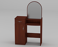 Будуарный туалетный столик трюмо стол в спальню Компанит 1 ШхГхВ - 856х390х1390 мм