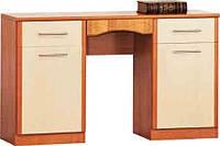 Будуарный туалетный столик трюмо стол в спальню Комфорт Д-581 ШхГхВ - 1300х460х785 мм
