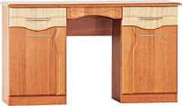Будуарный туалетный столик трюмо стол в спальню Комфорт Д-584 ШхГхВ - 1300х460х785 мм