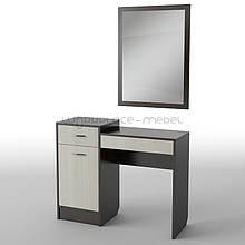 Будуарный туалетный столик трюмо стол в спальню Тиса БС-1 ШхГхВ - 1000х400х1600 мм