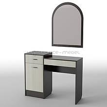 Будуарный туалетный столик трюмо стол в спальню Тиса БС-3 ШхГхВ - 1000х400х1600 мм