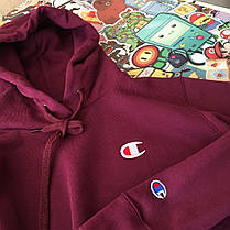 Кенгуру Champion • худі бордовий • Топ якість • Бірки ориг, фото 2