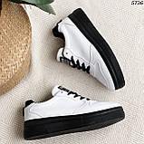 Кроссовки женские белые 5736, фото 10