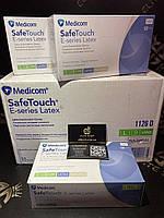 Припудрені латексні рукавички преміум якості Medicom SafeTauch розміри M і L к-ть обмежена!