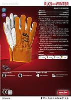 Перчатки защитные RLCS++WINTER Перчатки спилковые утепленные, фото 1