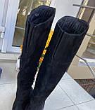 Женские зимние сапоги Respect оригинал натуральная замша цигейка 36, фото 4