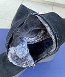 Женские зимние сапоги Respect оригинал натуральная замша цигейка 36, фото 5