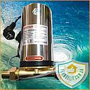 Насос для повышения давления воды в системе KOER KP.P15-GRS15 (с гайками, кабелем и вилкой) (KP0255), фото 5